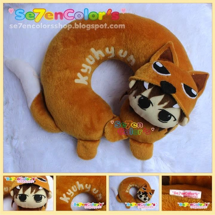 KYUHYUN of SUPER JUNIOR Neck Pillow - Fox Ver.