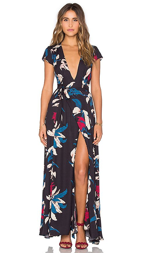 Shop for Tularosa Sid Wrap Dress in Tropical Floral at REVOLVE. Free 2-3 day shipping and returns, 30 day price match guarantee.