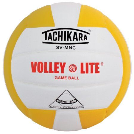 Tachikara Youth SV-MNC Volley-Lite Volleyball, White