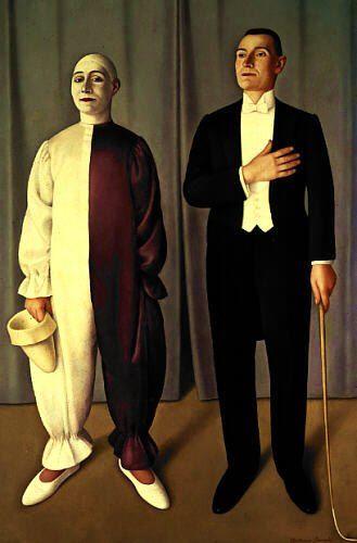 Antonio Donghi, Circo equestre, 1927