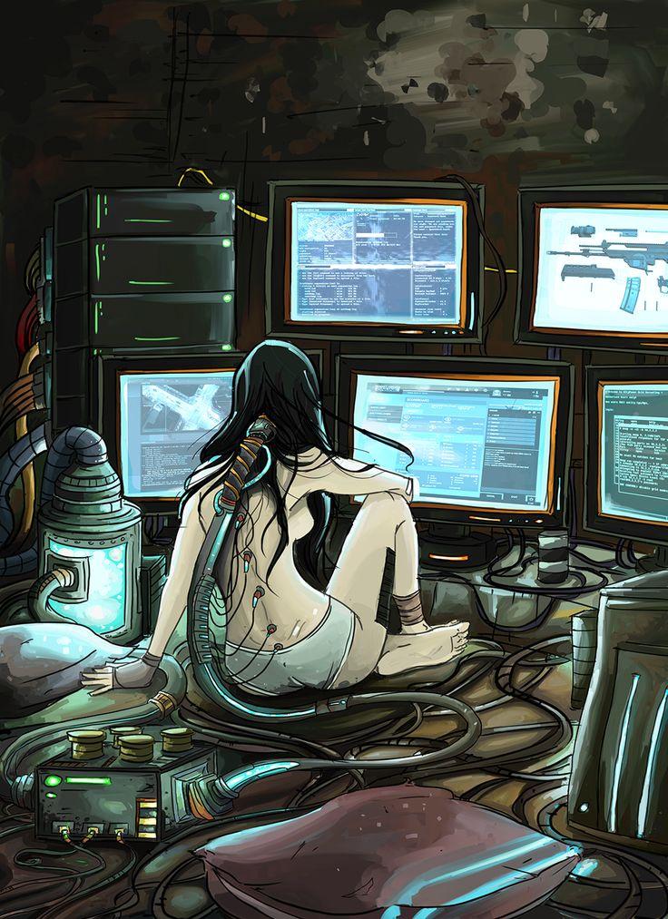 Cyberpunk browser by ~Rodethos