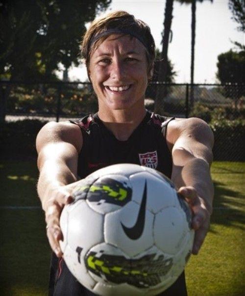 Abby Wambach! soccer USWNT