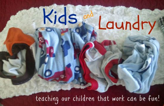 Want to have your kids help tackle the laundry? Great list of age appropriate tasks from 2 years old and up to make life just a little bit easier. Via I Dream of Clean