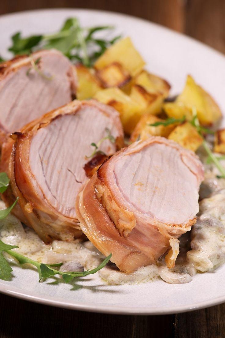 Weight Watchers Bacon Wrapped Pork Tenderloin Recipe - 7 WW Smart Points