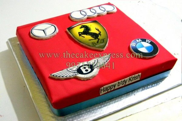 How To Make A F Car Cake Topper