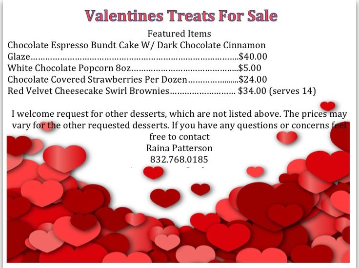 Countdown to Valentine's Day!!!! Get your orders in now!!!