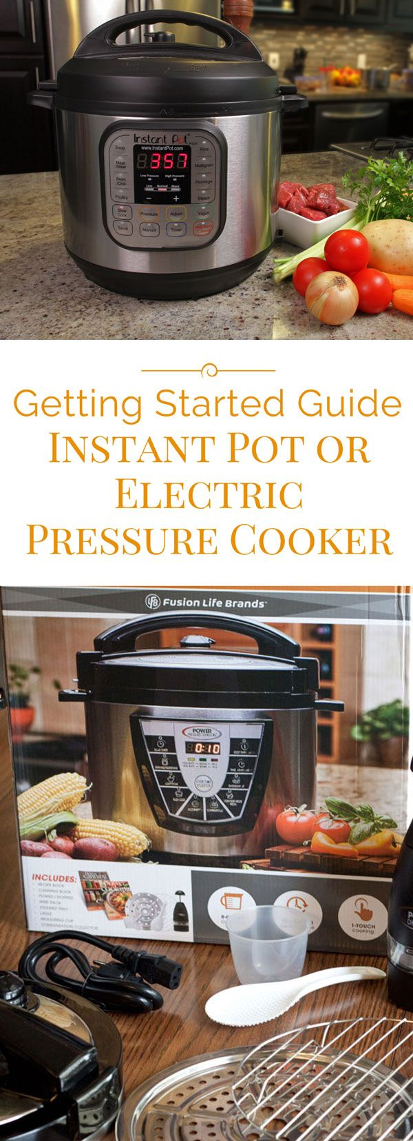 If you're just getting started with your new electric pressure cooker or Instant Pot, or even if you've had it for a while, you may have questions and I have answers.