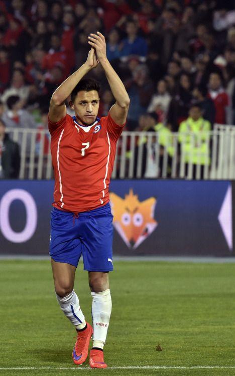 Fina demostración de buen juego Alexis Sánchez (Copa América, Chile 2015).