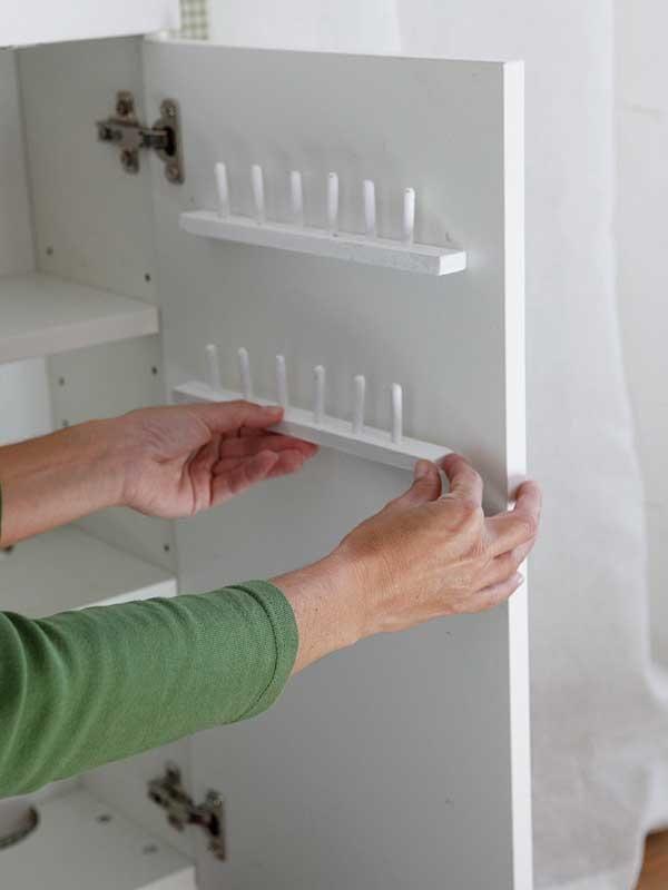 M s de 25 ideas incre bles sobre almacenamiento de hilo en for Mueble organizador de costura