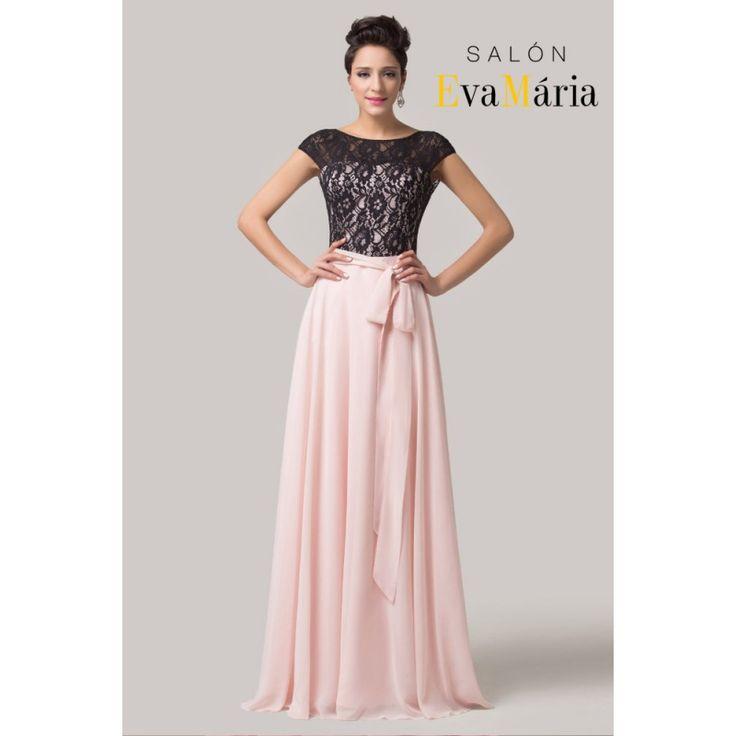 Salonevamaria.sk Mirasel modré šaty, dlhé šaty, šaty na stužkovú, šaty na promócie, šaty na svadbu, šaty pre družičky