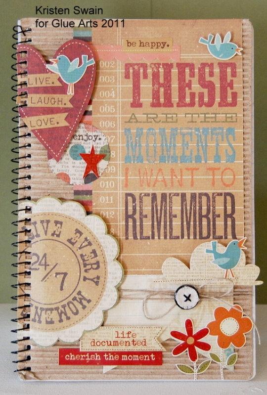 Glue Arts Simple Stories Makes It A Snap Journals Pinterest