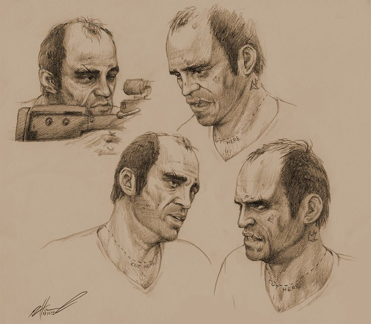 Trevor Philips by NessaSan on DeviantArt