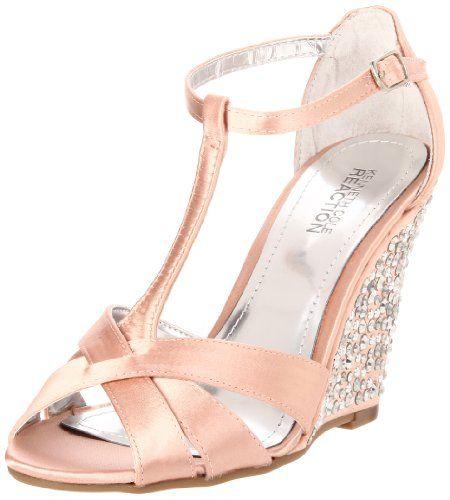 Amazon.com: Kenneth Cole REACTION Women's Sparkle Dove Wedge Sandal: Shoes