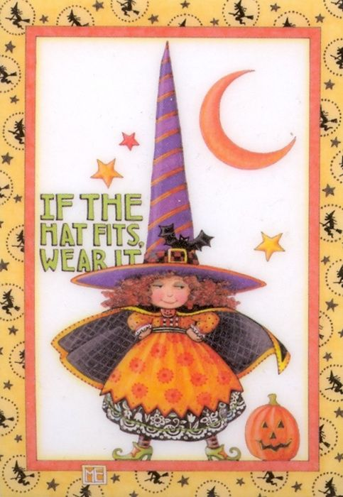 mary engelbreit wallpaper | If the hat fits, wear it"