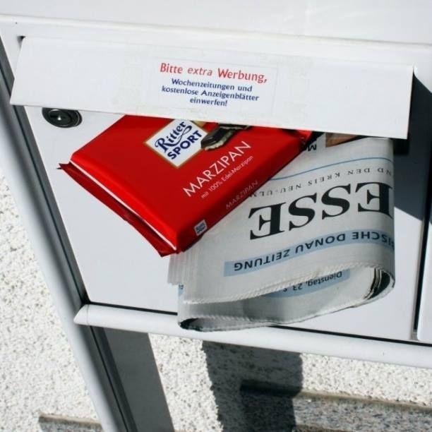 Bei einem solch netten Postboten ist das #SchokoFruehstueck gesichert. ;-)