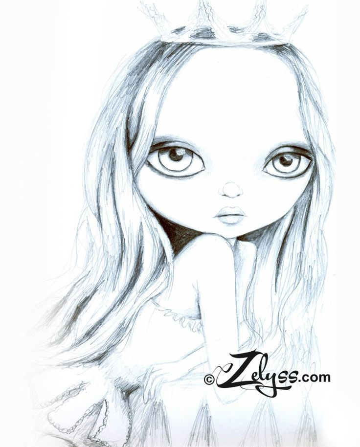 """Leyla"" Sketch by Zelyss www.zelyss.com"