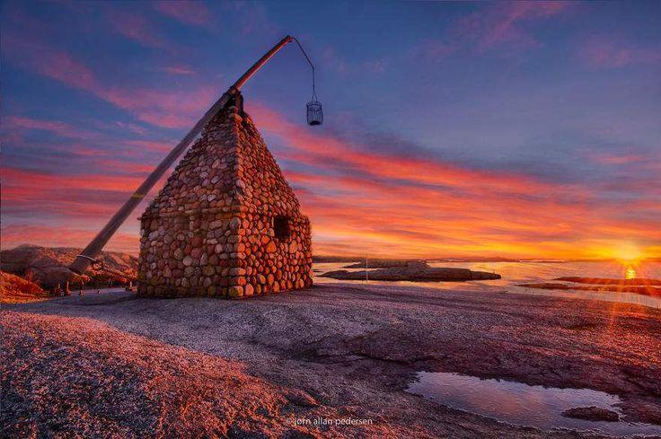 """Amerikansk nettsted har publisert bilder av Norge, under tittelen: """"Norsk arkitektur - tatt rett ut fra et eventyr!""""."""
