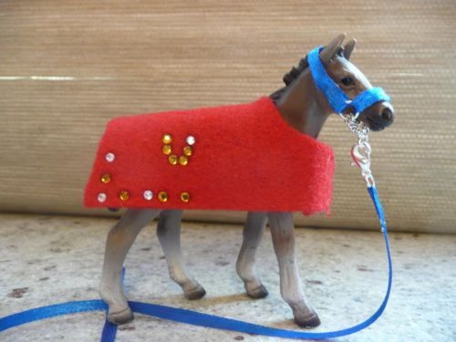 Halfter / Decke / Bandagen für Schleich Pferde in Baden-Württemberg - Gärtringen | eBay Kleinanzeigen