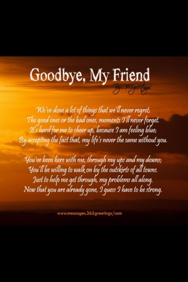 the loss of my best friend A dear friend of mine recently lost her mother her death was expected, but knowing that it's coming doesn't make the loss any easier i've found that getting a friend through tough times can often be a difficult process to navigate, and i don't always know the best way to respond.