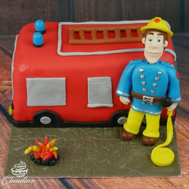 Feuerwehrmann Sam Torte | Firefighter Sam Cake