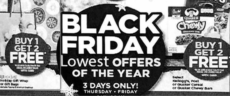 LEAKED! Rite Aid Black Friday Ad- 9 FREEBIES and Buy 1 Get 2 FREE Sales!
