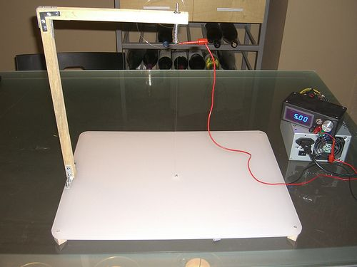 Make your own hot wire foam cutter!
