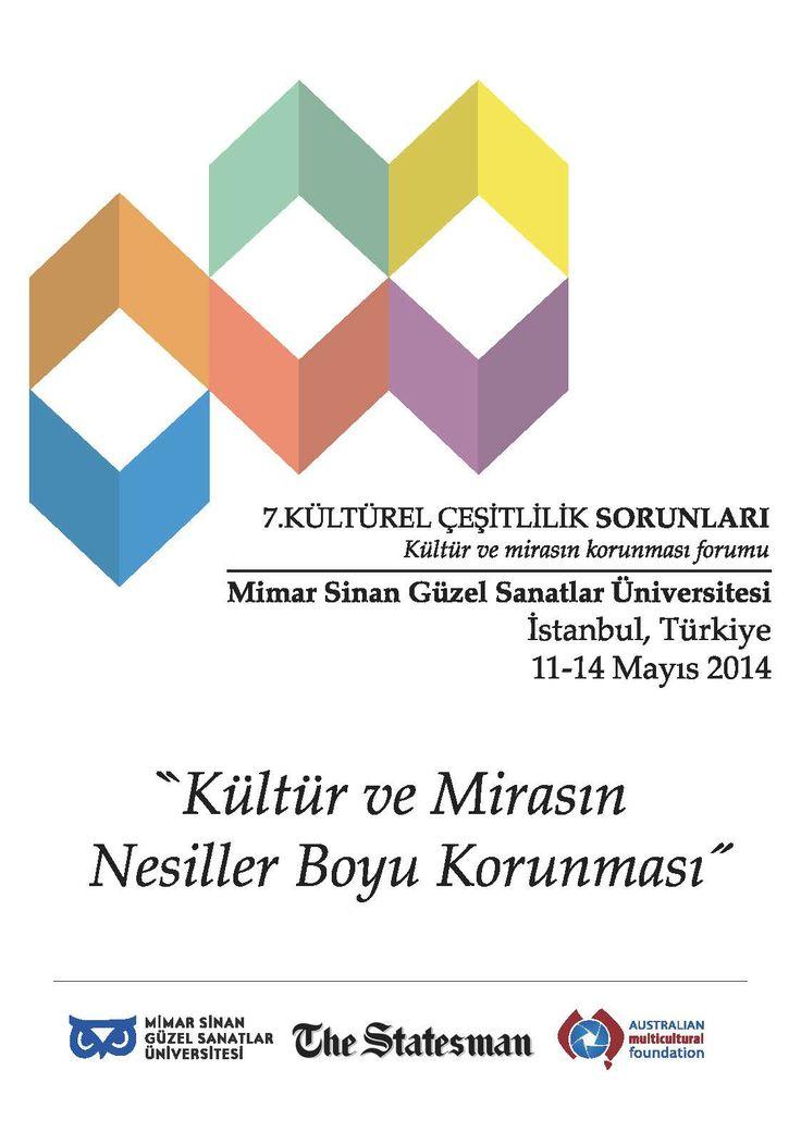 7. Kültürel Çeşitlilik Sorunları 12-13 Mayıs 2014 MSGSÜ Sedad Hakkı Eldem Oditoryumu