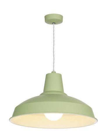 Reclamation Pendant Light Soft Sage £149 #meyerandmarsh #lighting #homeideas