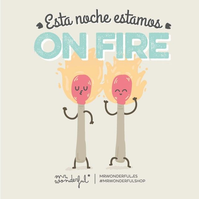 Saturday on fire!