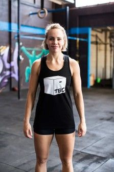 Functional Fitness Clothing Australia | TBC Women's Sports Bra (Mint & Black)
