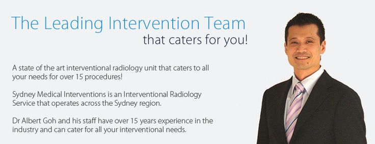 Sydney Medical Interventions is an Interventional Radiology Service that operates across the Sydney region.