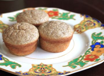 how to make banana muffins without baking powder