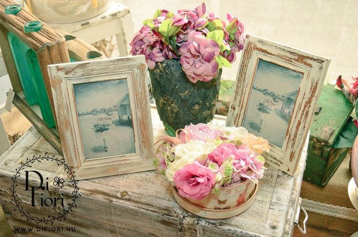 Vintage virágdoboz