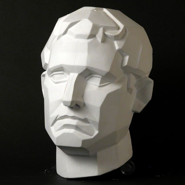 Drawing Plaster Cast Male Face (Planar) - Natural Pigments. http://www.naturalpigments.com/drawing-plaster-cast-male-face-planar.html