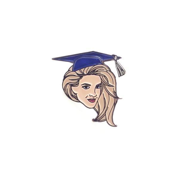 Donna Graduates Pin