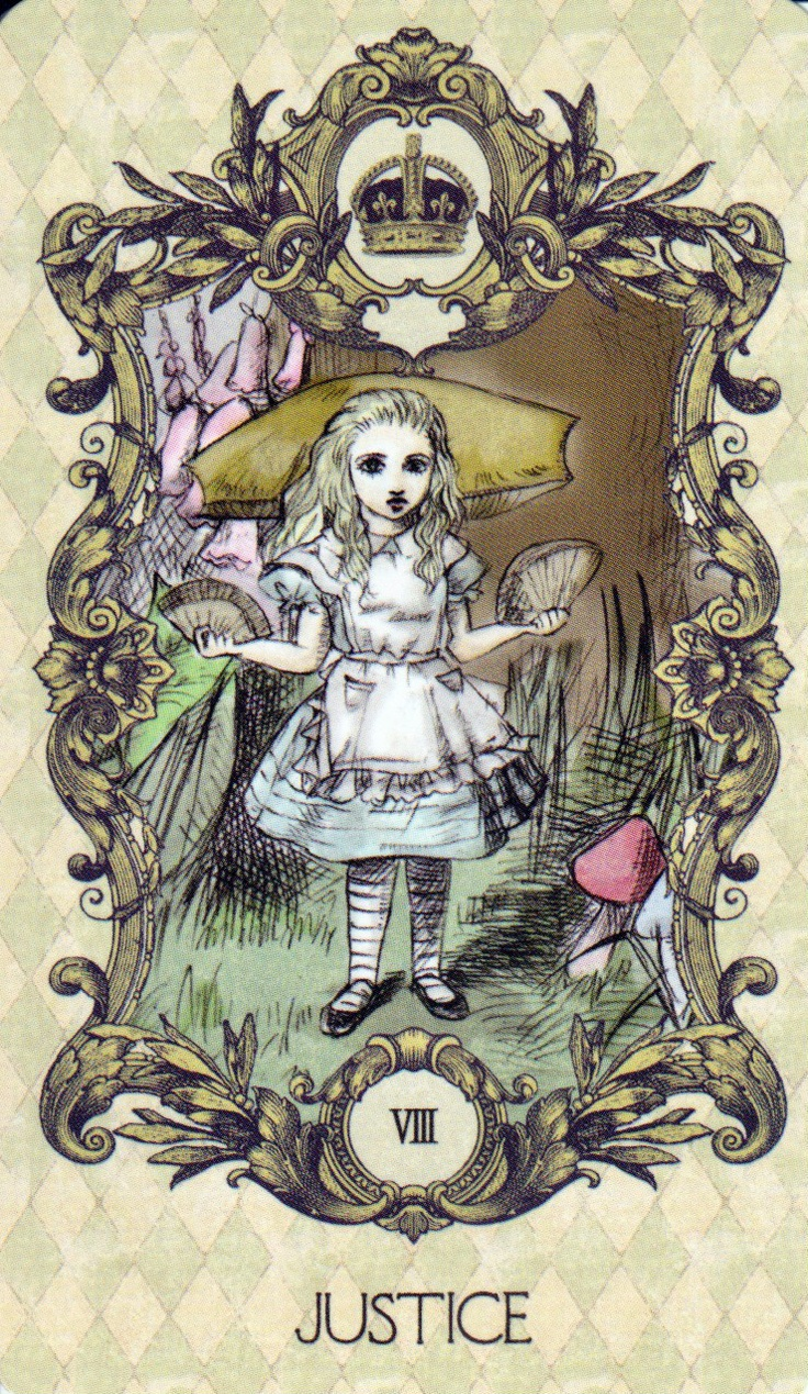 Alice In Wonderland Tarot 22 Major Arcana Cards Deck