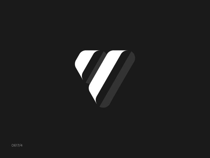 Letter V by Satriyo Atmojo  #logo #logos #logodesign #design #monogram