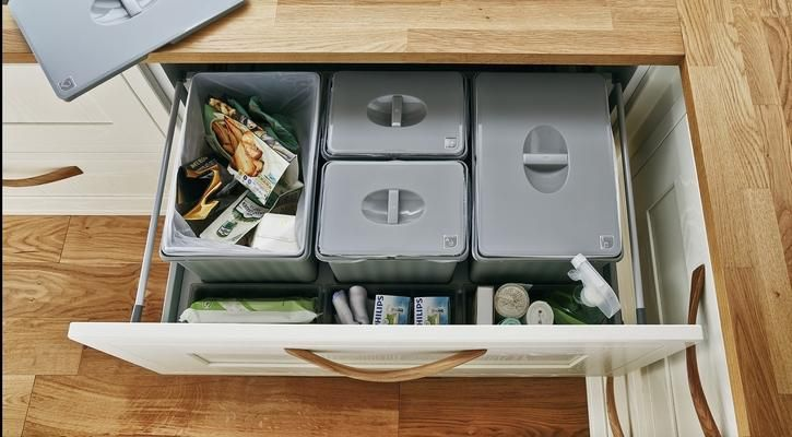 Pan Drawer Recycling Bins
