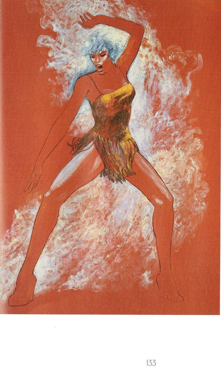 Milo Manara - Vol. 20, Il Pittore e la Modella-133 (Le altre modelle)