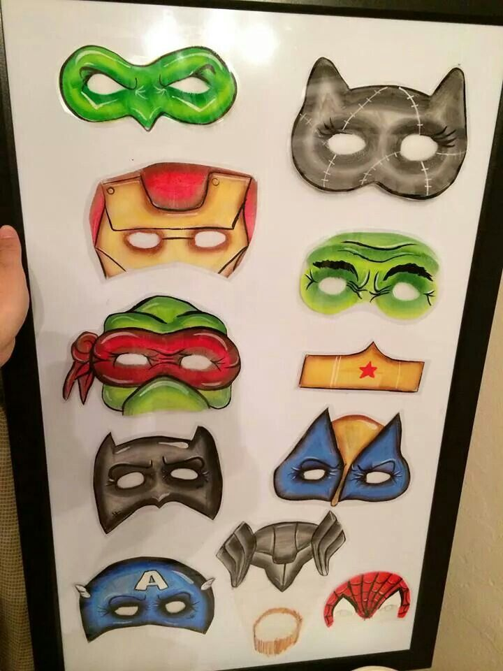 Isobel, if you get time could you create something like this for display? Super Hero board