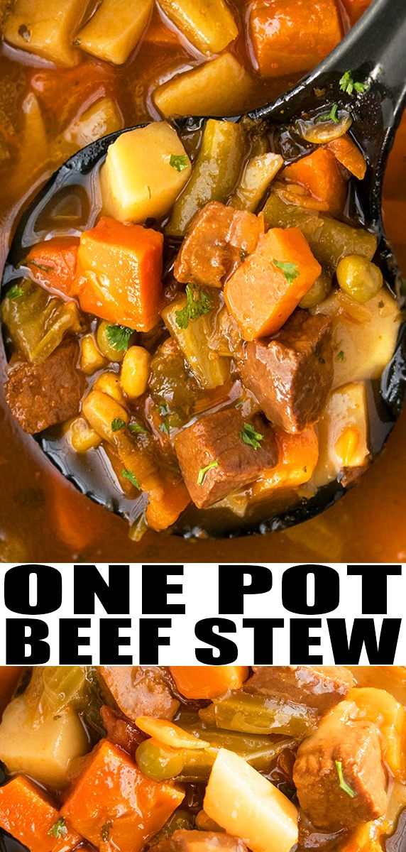 BEEF STEW RECIPE- Quick, easy, best, old fashioned