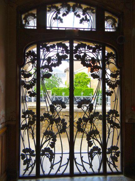 Art Nouveau buildings in Nancy, France