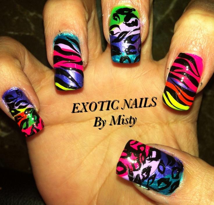 28 best exotic nail art images on Pinterest   Nail nail, Nail ...