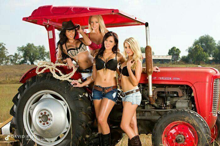 Tractor Girls | Jamie & Heather at the Jackson County Fair | Marty ...