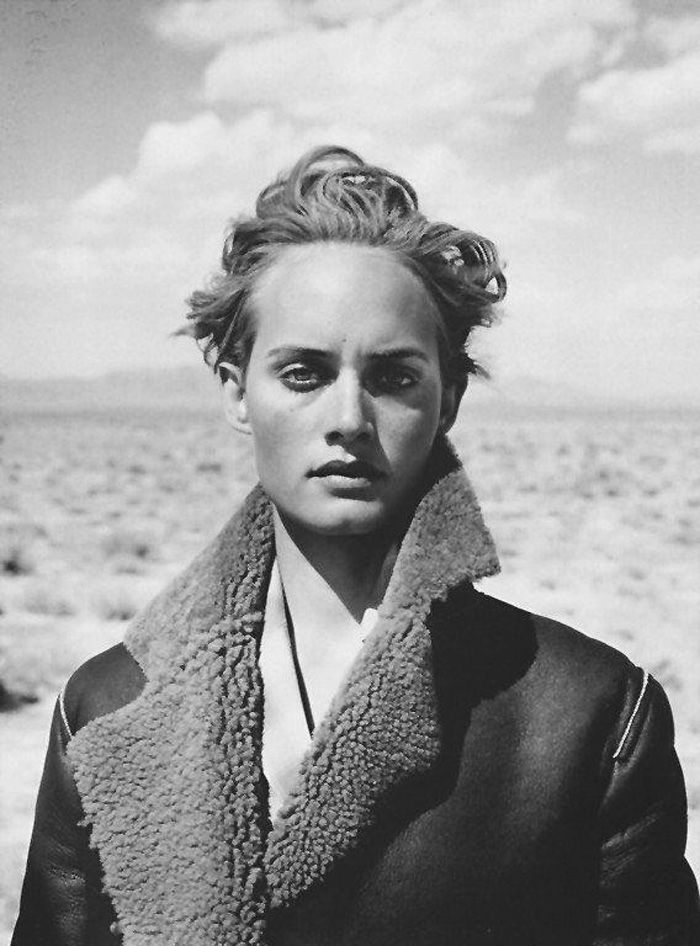 Amber Valletta - actress, fashion icon and so much more. (I thought this pic was awesome). Amber is currently playing Lydia Davis on the tv series Revenge.