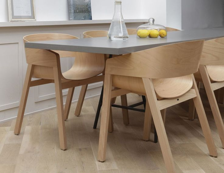 Merano Natural Oak Armchair by Alex Gufler for TON