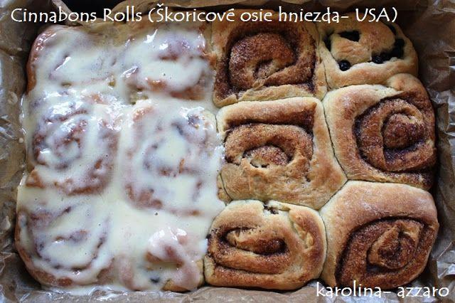 karolina-azzaro: Cinnabons Rolls (Škoricové osie hniezda- USA)