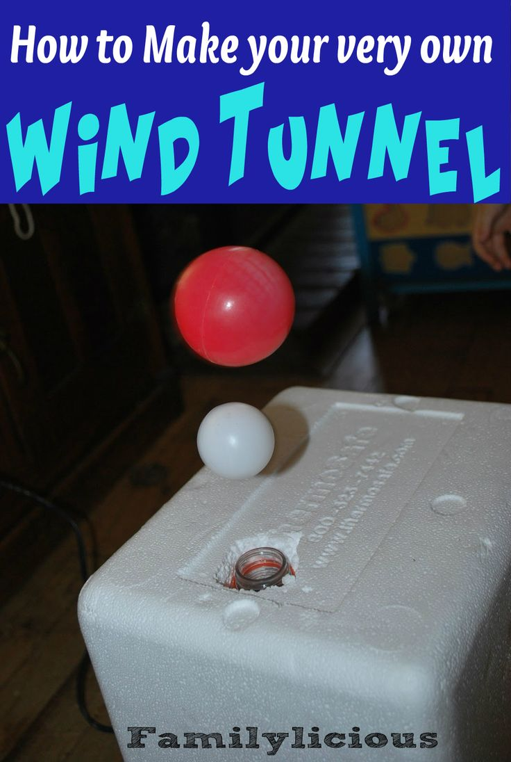 How to make a Wind Tunnel | Familylicious