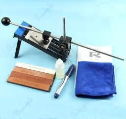 Search Professional kitchen knife sharpener system sharpening frame fix angle. Views 114457.