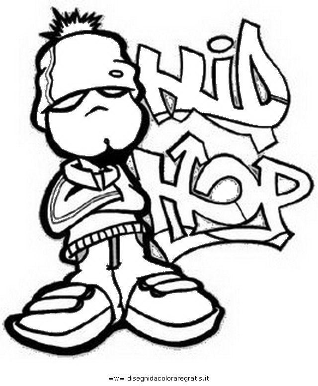 "hip hop coloring pages~""i'm hip i'm hop i'm the coolest"